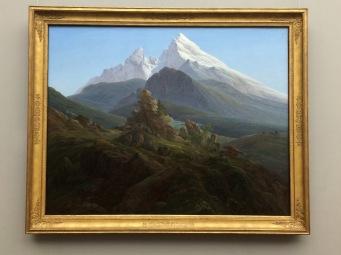Der Watzmann - Caspar David Friedrich