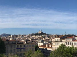 My only view of Marseille - from the train station